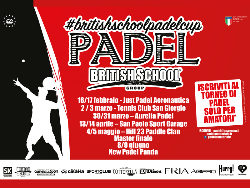 Padel Amatoriale | British School Padel Cup