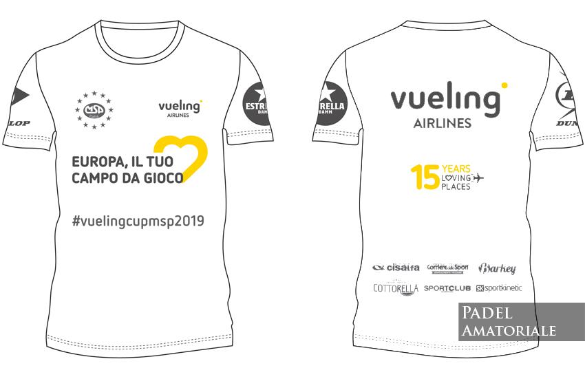Vueling Padel Cup MSP | La compagnia aerea al fianco della città di Roma per sostenere lo Sport