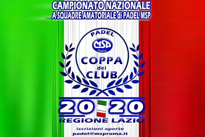 Padel Amatoriale | Coppa dei Club 2020