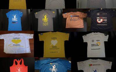 Padel Amatoriale MSP: la storia di tutte le t-shirt – FOTO