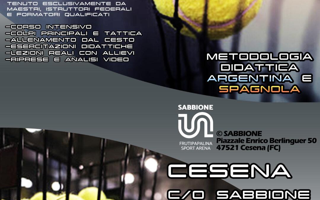 Cesena, Corso Istruttori Padel dal 12 al 14 marzo: i moduli per iscriversi – PDF