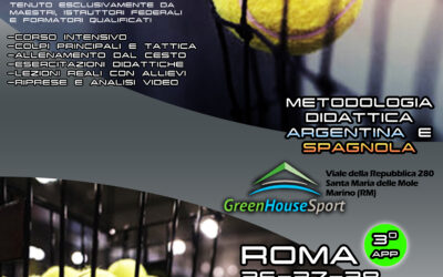 Roma, Corso Istruttori Padel dal 26 al 28 marzo: i moduli per iscriversi  – PDF
