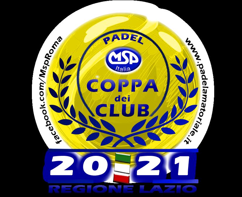 Coppa dei Club-Regione Lazio: risultati Ottavi di Finale e Tabelloni – PDF
