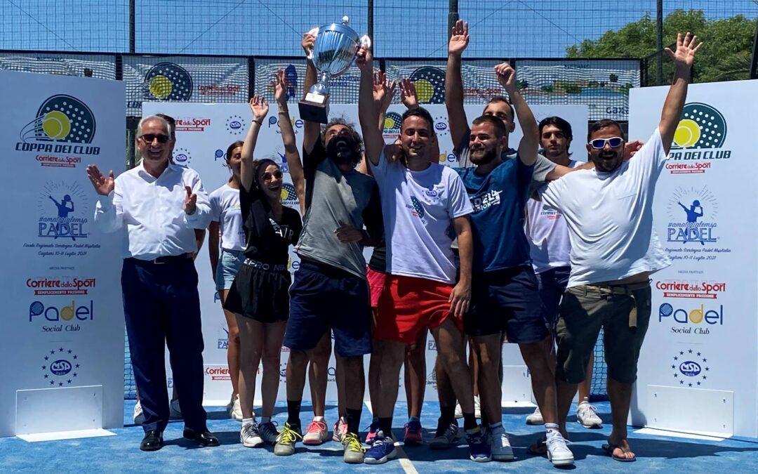 Coppa dei Club Sardegna, trionfo dell'Ossigeno Padel